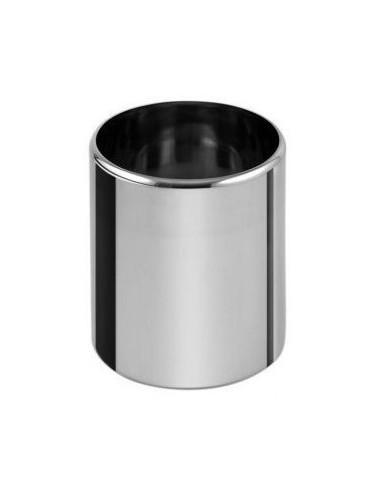 Bac cylindrique inox