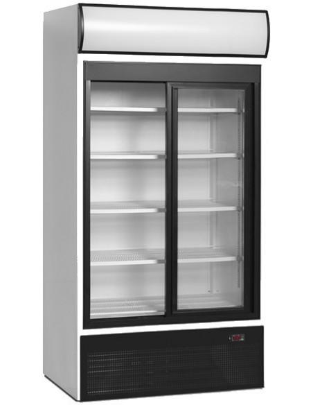 Réfrigérateur portes coulissantes
