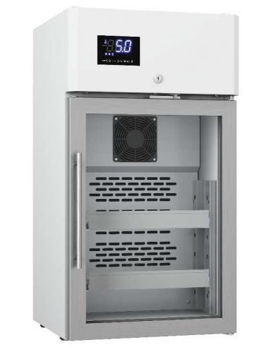 Réfrigérateur vitré médical 60L